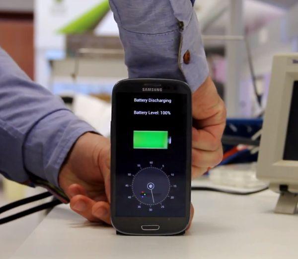 شارژ باتری موبایل در کمتر از 30 ثانیه