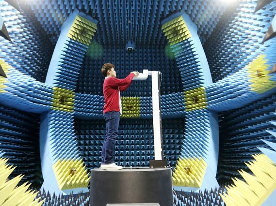 اتاق فومی تهیه شده برای اندازهگیری تشعشعات