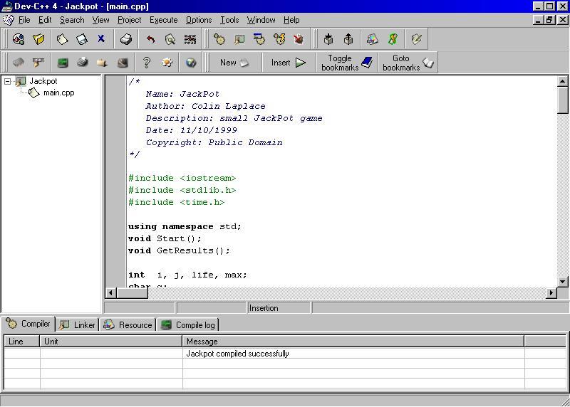 نرم افزار DEV - C++