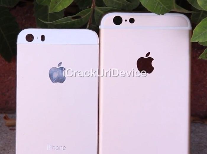 مقایسه iphone6 با iphone5s