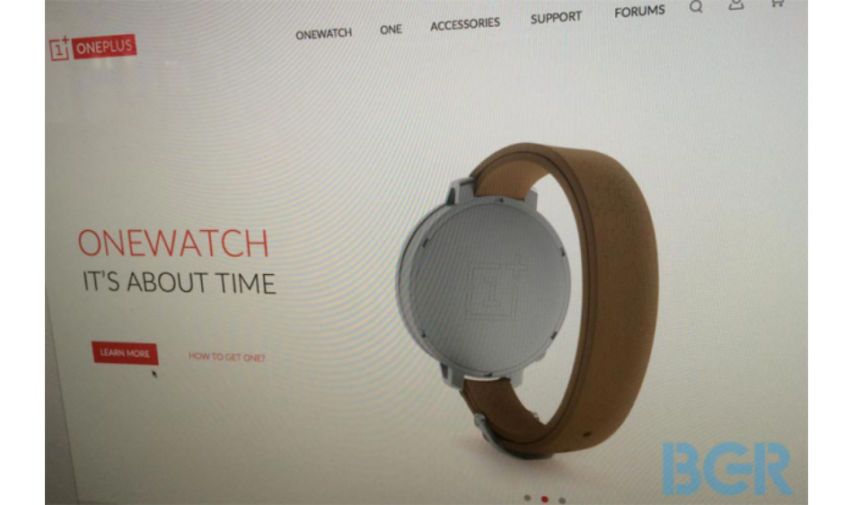 OnePlus smart watch