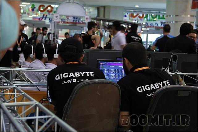 عکسی از مسابقات بازی های رایانه ای در خلیج فارس