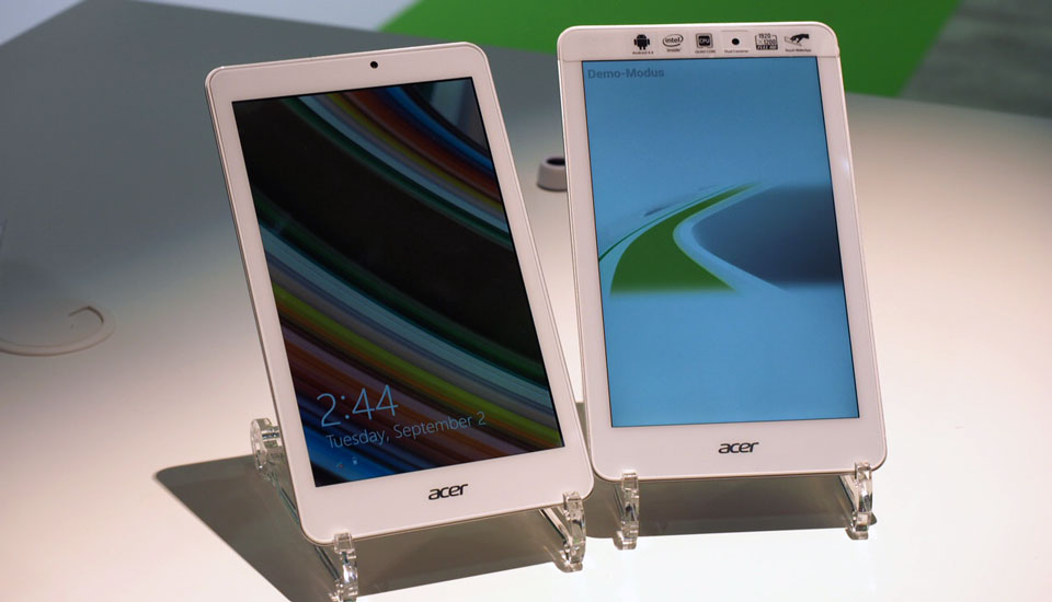 Acer Iconia one 8 and Tab 8 W