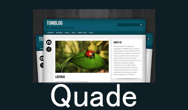 قالب Quade برای وردپرس