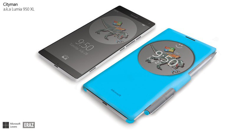 مایکروسافت سیتی من(لومیا 950XL)