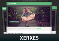 دانلود قالب مجله ای Xerxes برای وردپرس