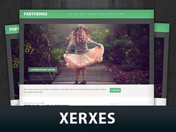 قالب مجله ای Xerxes برای وردپرس