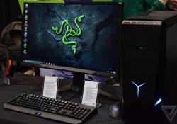 معرفی کامپیوتر گیمینگ Ideacenter Y900 RE لنوو و ریزر در CES 2016