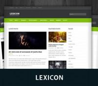 قالب وبلاگی Lexicon