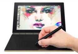 معرفی تبلت Yoga Book و لپ تاپ تبدیل شدنی Yoga 910 لنوو در IFA 2016