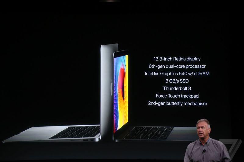 مک بوک پرو 2016 اپل