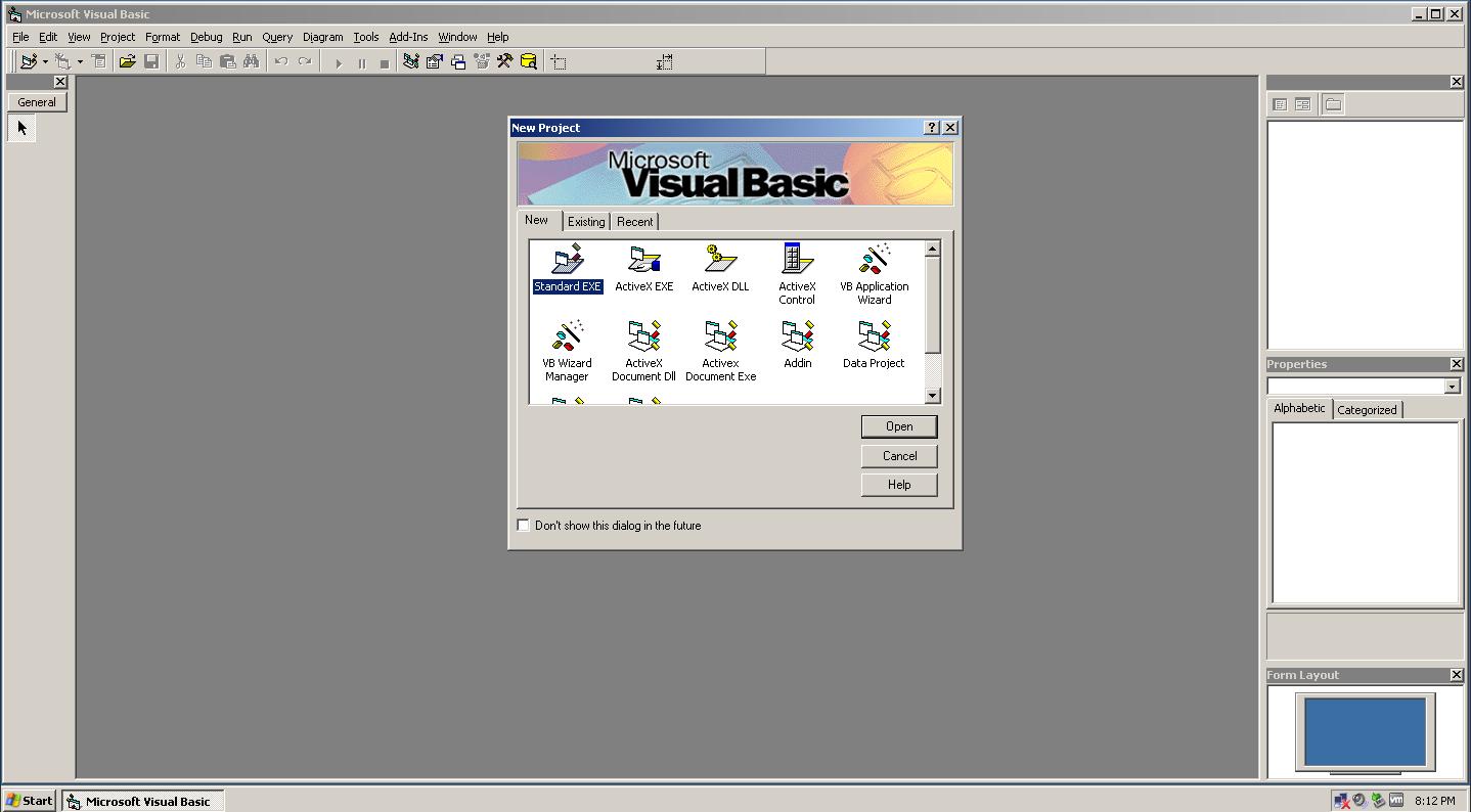 کامپایلر Visual Basic 6