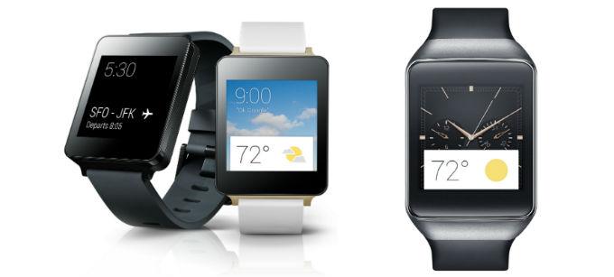ساعت هوشمند Gear Live و G Watch
