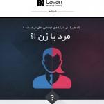 فعالیت های مردان و زنان در شبکه های اجتماعی