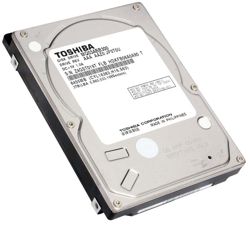 Toshiba MQ03ABB300 HDD