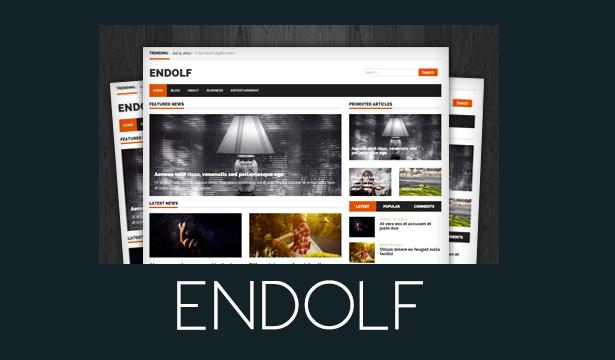 قالب ENDOLF برای وردپرس