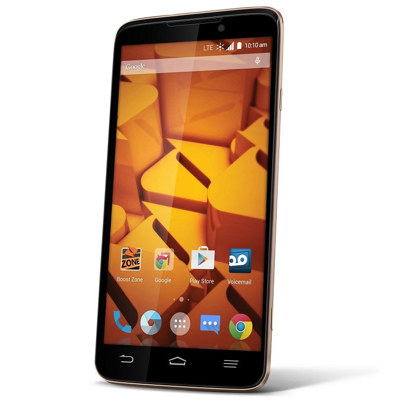 ZTE Boost MAX+ smartphone