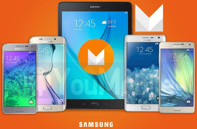 Android Marshmallow On Devices Samsung