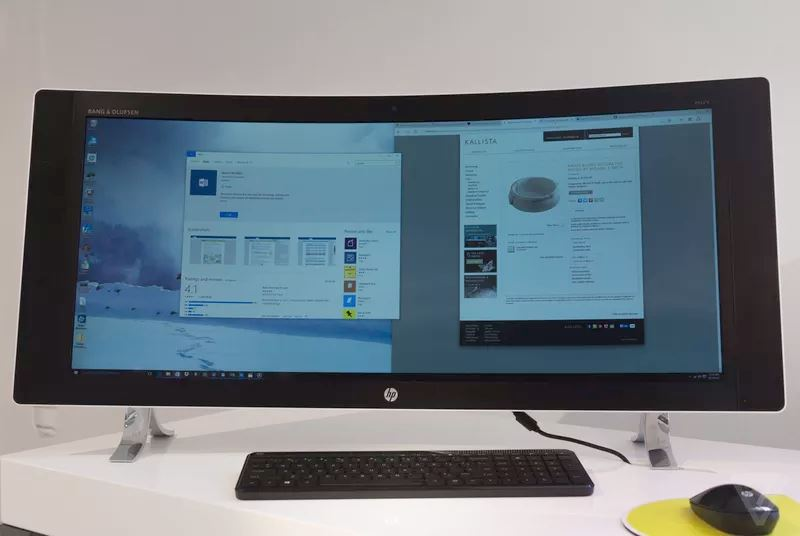 HP Envy Curved